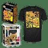 Box Funko Pop Flocked And Tee Cowboy Bebop NYCC 2020
