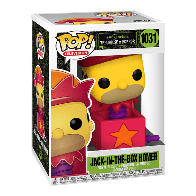 Jack-In-The-Box Homer Funko Pop The Simpsons 1031