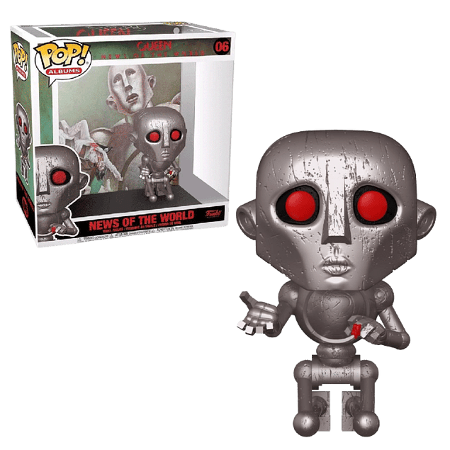 News Of The World Queen Funko Pop Albums 06