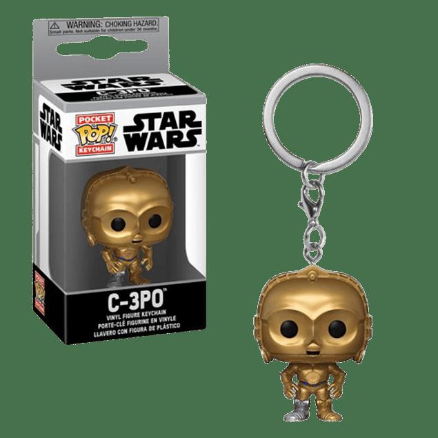 C-3PO Llavero Funko Pop Star Wars