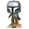 The Mandalorian With The Child Funko Pop Star Wars 402