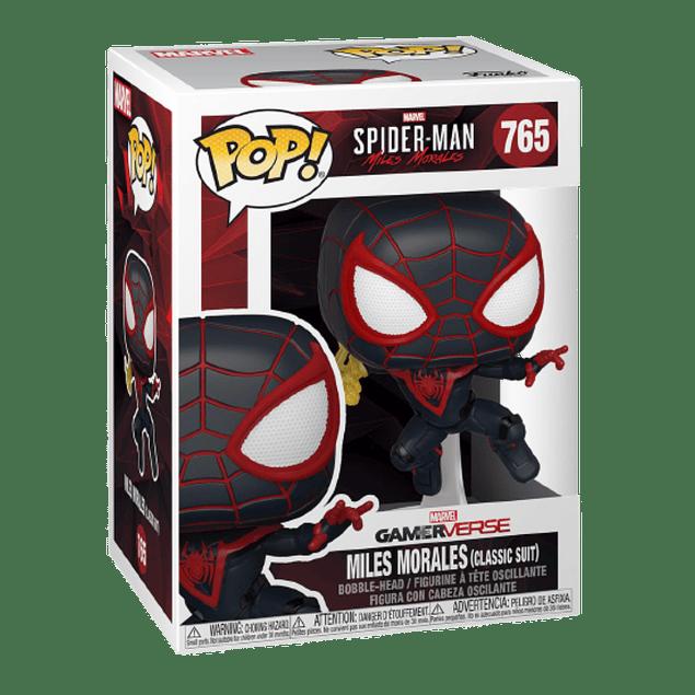 Miles Morales Classic Suit Funko Pop Spiderman Miles Morales 765