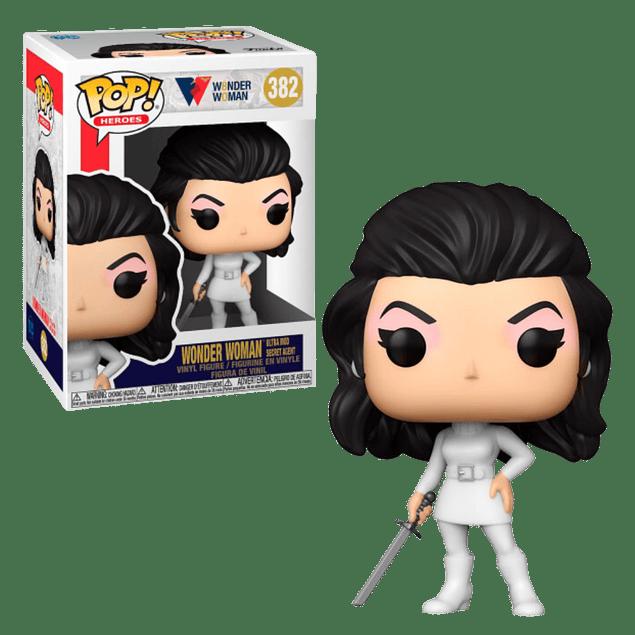 Wonder Woman Ultra Mod Secret Agent Funko Pop WW80 Years 382