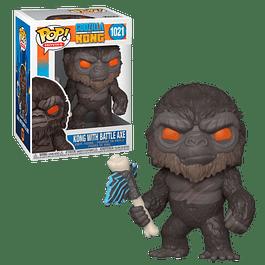 Kong With Battle Axe Funko Pop Godzilla Vs Kong 1021