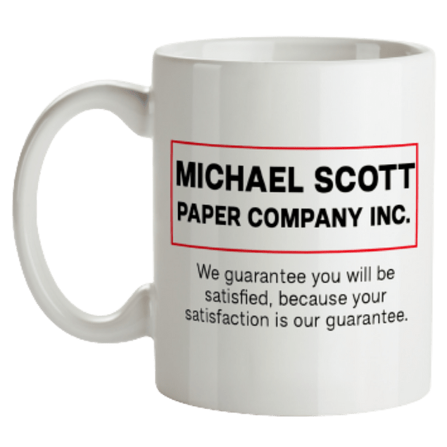 Mug The Office Michael Scott Paper Company