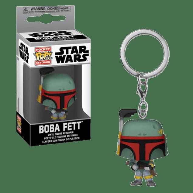 Boba Fett Llavero Funko Pop Star Wars