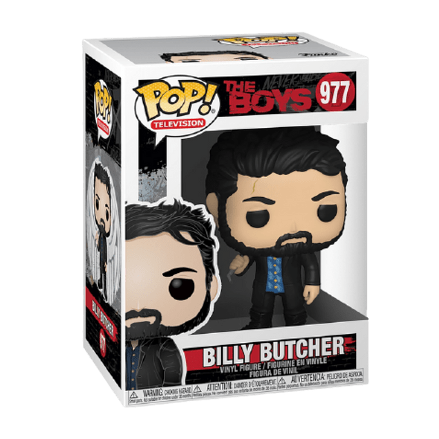 Billy Butcher Funko Pop The Boys 977