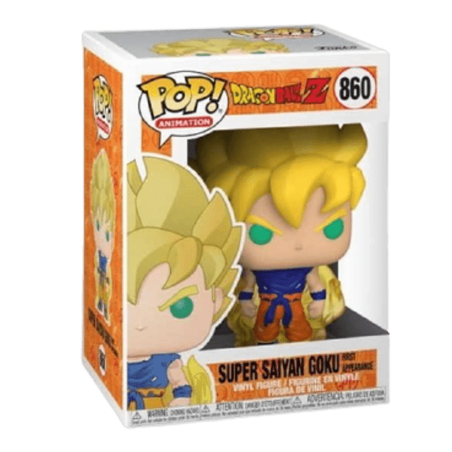 Super Saiyan Goku Funko Pop Dragon Ball Z 860