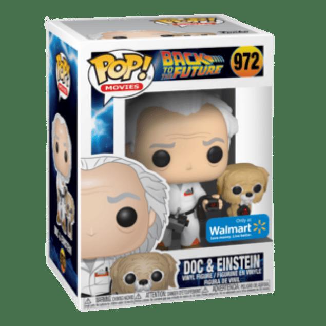 Doc And Einstein Funko Pop Back To The Future 972 Walmart