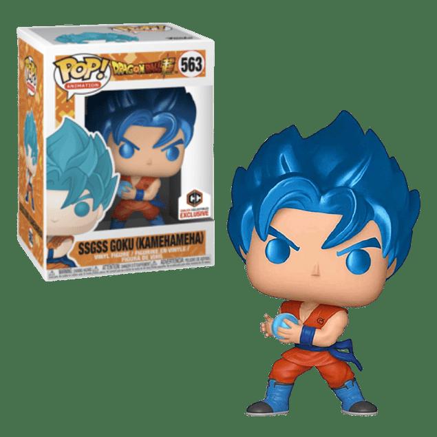 SSGSS Goku Kamehameha Funko Pop Dragon Ball Super 563 Chalice Collectibles