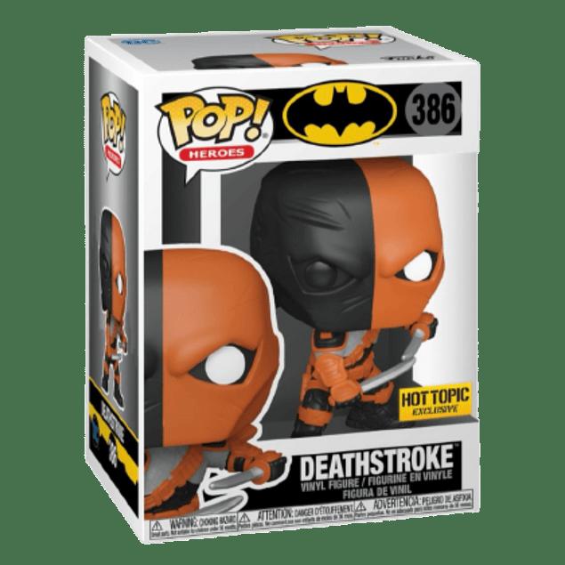 Deathstroke Funko Pop Batman 386 Hot Topic