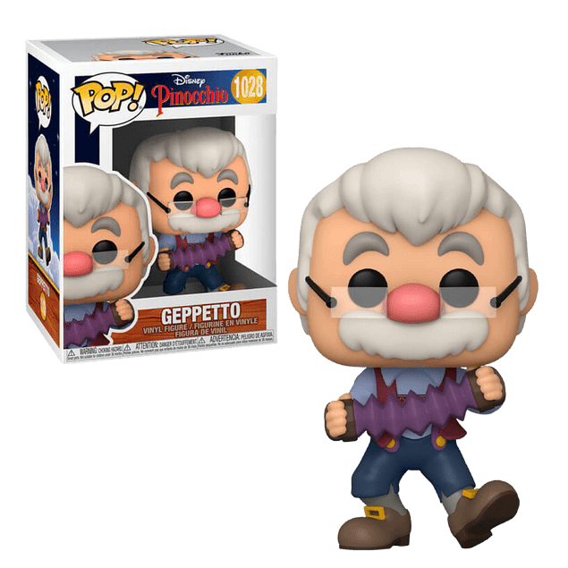 Geppetto Funko Pop Pinocchio 1028