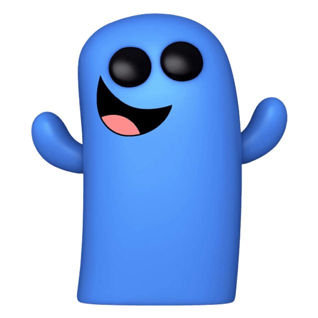 Bloo Funko Pop Fosters Home For Imaginary Friends 942
