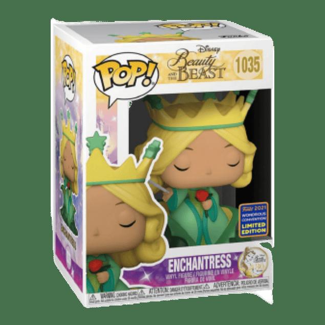 Enchantress Funko Pop Beauty And The Beast 1035 Wondrous Con 2021