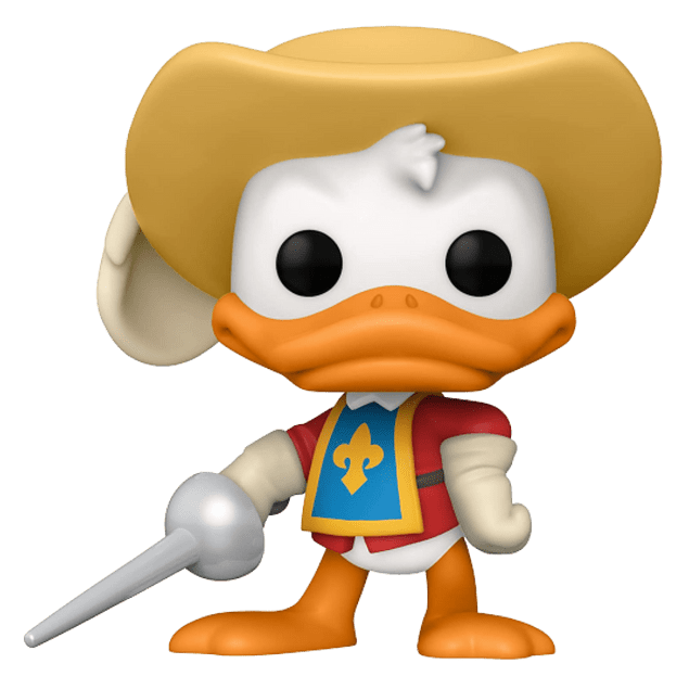 Donald Duck Funko Pop The Three Musketeers 1036 Wondrous Con 2021