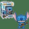 Stitch With Ukulele Funko Pop Lilo Y Stitch 1044