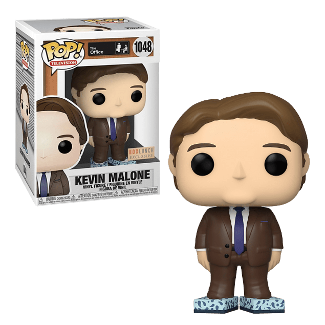 Kevin Malone Funko Pop The Office 1048 BoxLunch