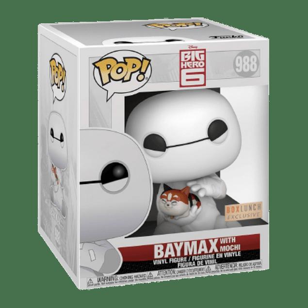Baymax With Mochi Funko Pop Big Hero 6 988 BoxLunch
