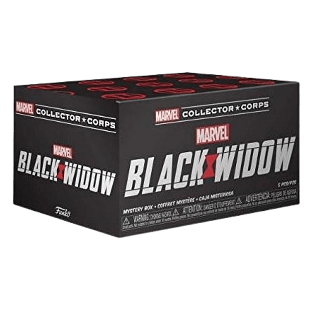 Funko Pop Marvel Collector Corps Black Widow