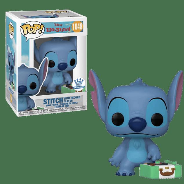 Stitch With Record Player Funko Pop Lilo Y Stitch 1048 Funko Shop
