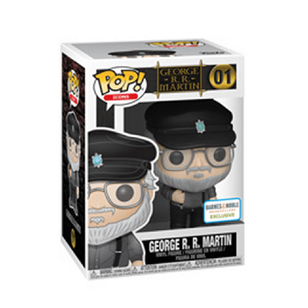 George R. R. Martin Funko Pop Icons 01 Barnes And Noble
