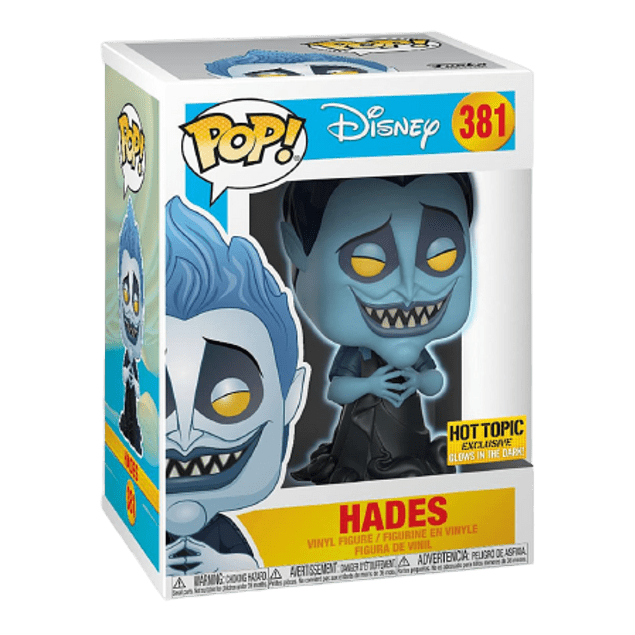 Hades Funko Pop Disney 381 Hot Topic