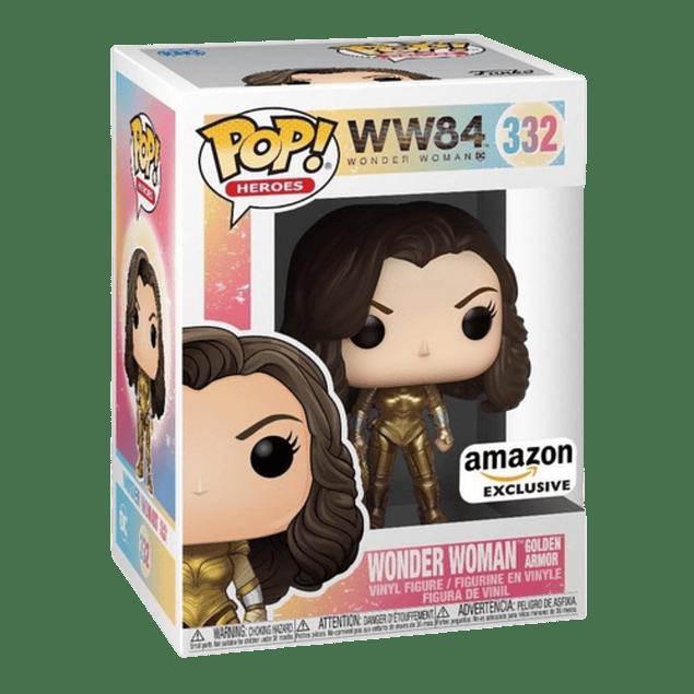 Wonder Woman Golden Armor Funko Pop WW84 332 Amazon