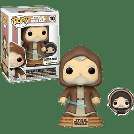 Obi Wan Kenobi Tatooine With Pin Funko Pop Star Wars 10 Amazon