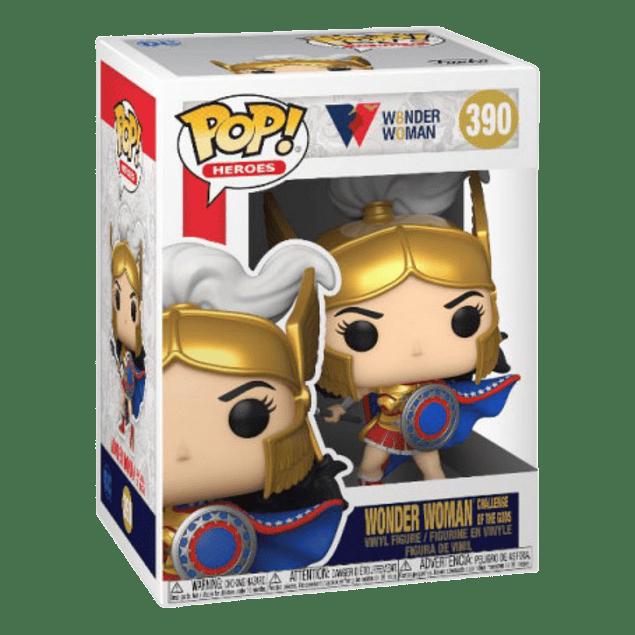 Wonder Woman Challenge Of The Gods Funko Pop WW80 Years 390