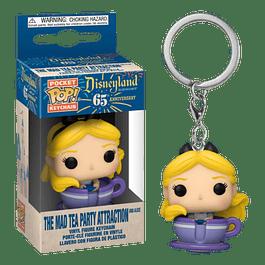 The Mad Tea Party Attraction And Alice Llavero Funko Pop Disneyland 65
