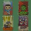 Marvel Avengers Separadores Magnéticos Para Libros