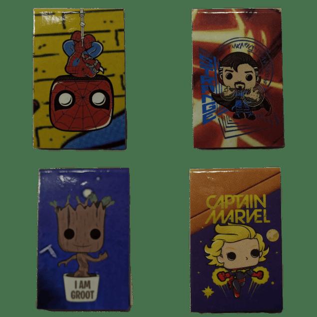 Marvel Separadores Magnéticos Para Libros