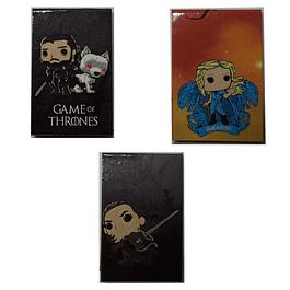 Game Of Thrones Separadores Magnéticos Para Libros