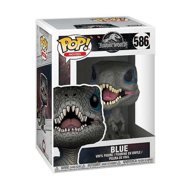 Blue Funko Pop Jurassic World 586