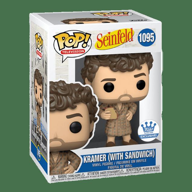 Kramer With Sandwich Funko Pop Seinfeld 1095 Funko Shop