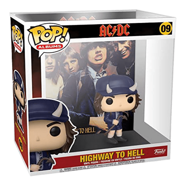 Highway To Hell AC/DC Funko Pop Albums 09