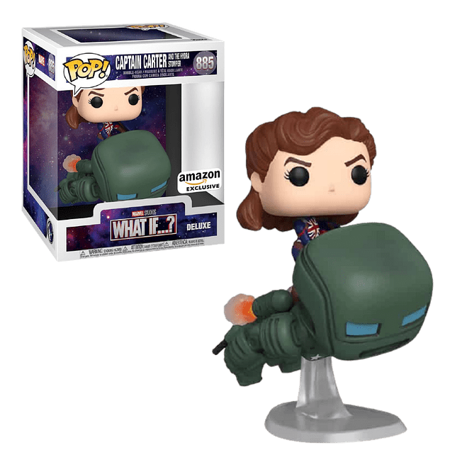 Captain Carter And The Hydra Stomper Funko Pop What If 885 Amazon