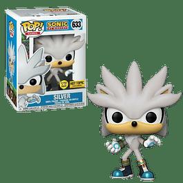 Silver Funko Pop Sonic 633 Hot Topic