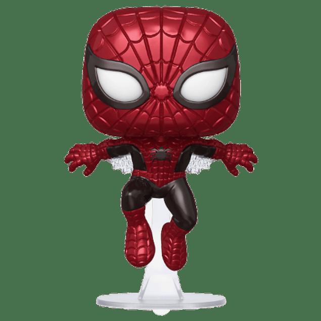 Spiderman Funko Pop Marvel 80 Years 593 Hot Topic