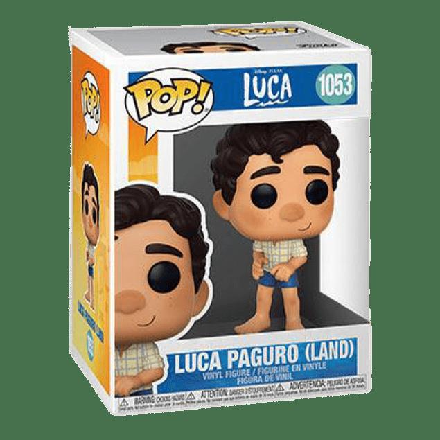Luca Paguro Land Funko Pop Luca 1053
