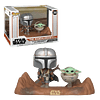 The Mandalorian With The Child Funko Pop Star Wars 390
