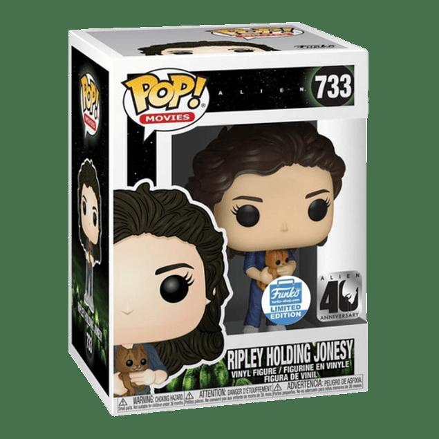 Ripley Holding Jonesy Funko Pop Alien 733 Funko Shop