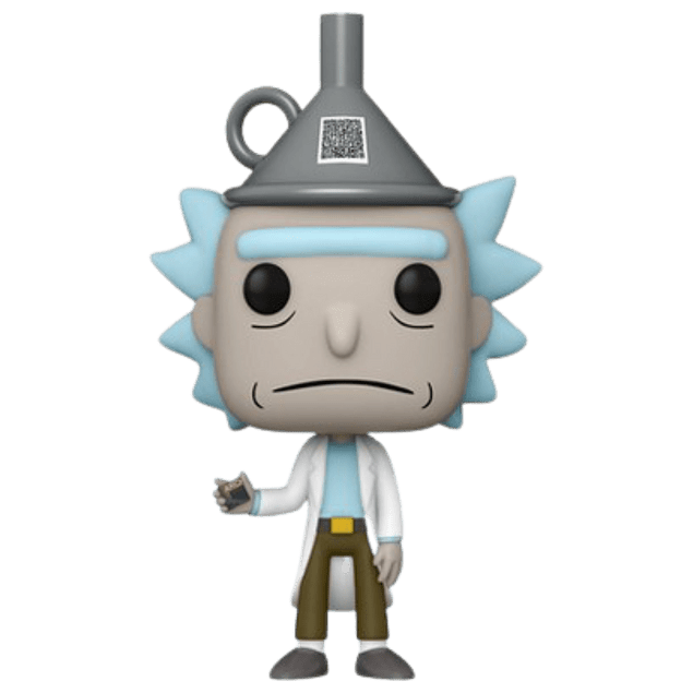 Rick With Funnel Hat Funko Pop Rick And Morty 959 Target