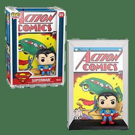 Superman Funko Pop Comic Covers 01