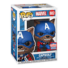 CapWolf Funko Pop Marvel 882 Funkon 2021