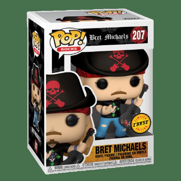 Bret Michaels Funko Pop Chase 207