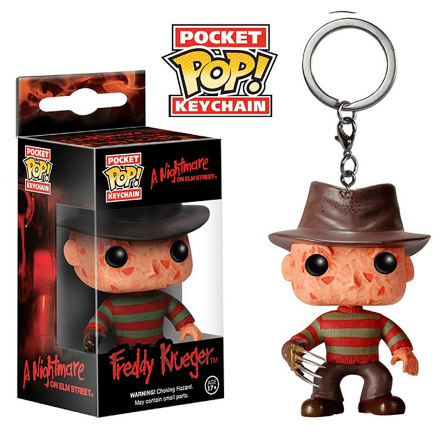 Freddy Krueger Llavero Funko Pop A Nightmare On Elm Street