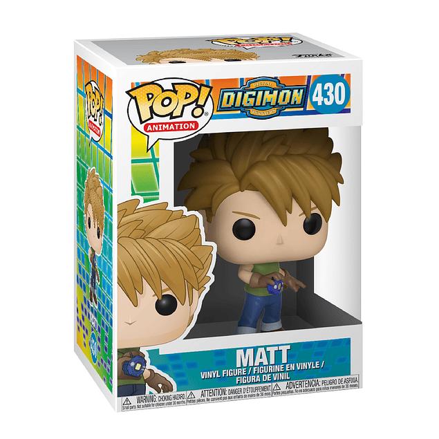Matt Funko Pop Digimon 430