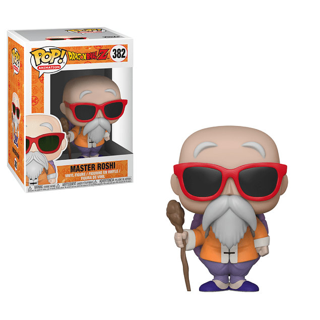 Maestro Roshi Funko Pop Dragon Ball Z 382