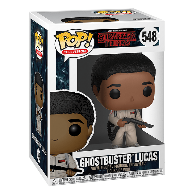Ghostbuster Lucas Funko Pop Stranger Things 548